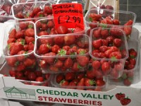 Cheddar Valley Strawberries at Costcutter ALL SUMMER