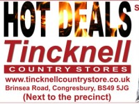 Hot Deals on Coal at Tincknell Country Store