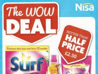Nisa Local Offers – 16 Feb to 8 Mar 2015