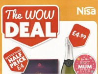 Nisa Local Offers – 9 Mar to 29 Mar 2015