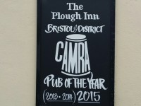 "The Plough Inn is CAMRA's ""Pub Of The Year"" for the 3rd year running!"