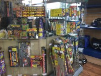 Fireworks available at Tincknell Country Store