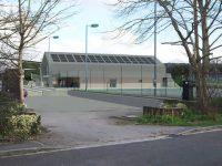 Artist impression of what the New Village Hall / Community centre might look like