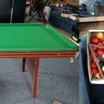 Snooker Table for Sale – Proceeds to Congresbury Youth Partnership