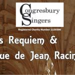 Congresbury Singers performing Fauré's 'Requiem' – Sat 1st April 2017
