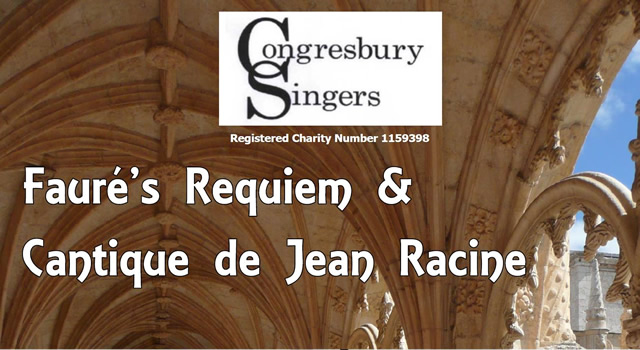 Congresbury Singers performing Fauré's 'Requiem'