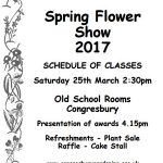 Spring Flower Show 2017 – Sat 25th March