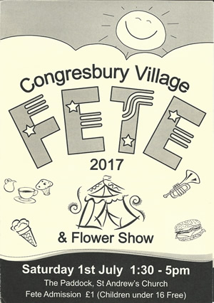 Congresbury Village Fete & Flower Show