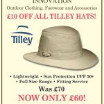 Country Innovation – £10 OFF ALL TILLEY HATS!