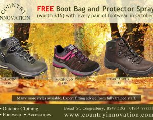 Country Innovation: October Boot Promotion