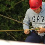 Sponsored Abseil at Sandford Quarry