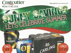 Costcutter Offers - 26 June to 16 July 2014