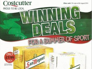 Costcutter Offers - 17 July to 6 Aug 2014