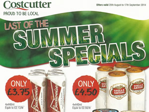 Costcutter Offers - 28 Aug to 17 Sep 2014