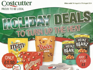 Costcutter Offers - 7 Aug to 27 Aug 2014
