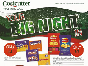 Costcutter Offers - 18 Sep to 8 Oct 2014