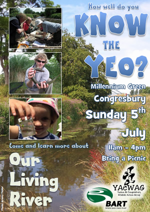 Know The Yeo – Our Living River – Sun 5 July, 11am-4pm